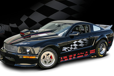 The 800 HP Prudhomme Edition GT500 Super Snake Concept Car
