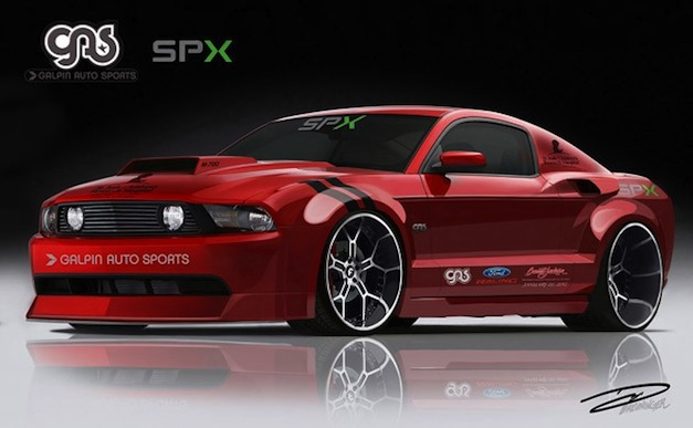 Galpin Widebody Charity Mustang Barrett-Jackson