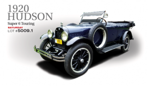 This significant vehicle currently resides in the Gordon Apker Collection.