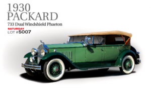 This significant vehicle currently resides in the Mark Hymen Collection.