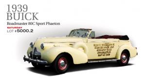 1939 Buick Roadmaster 80C Sport Phaeton