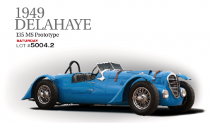 This 135 MS prototype came to life as a factory demo to promote the concessionaires, exporters and shippers for Delahaye in the UK. Built on a Delahaye chassis, inline 6-cylider 3.5 litre with Cotal semi-automatic trans, Solex HD 44 carbs.