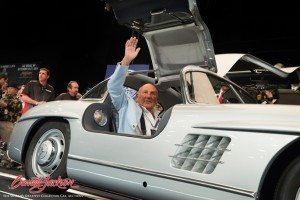 Sir Stirling Moss at Barrett-Jackson