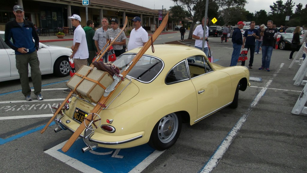 This classic Porsche arrived at our Cars and Coffee sporting some interesting accessories.