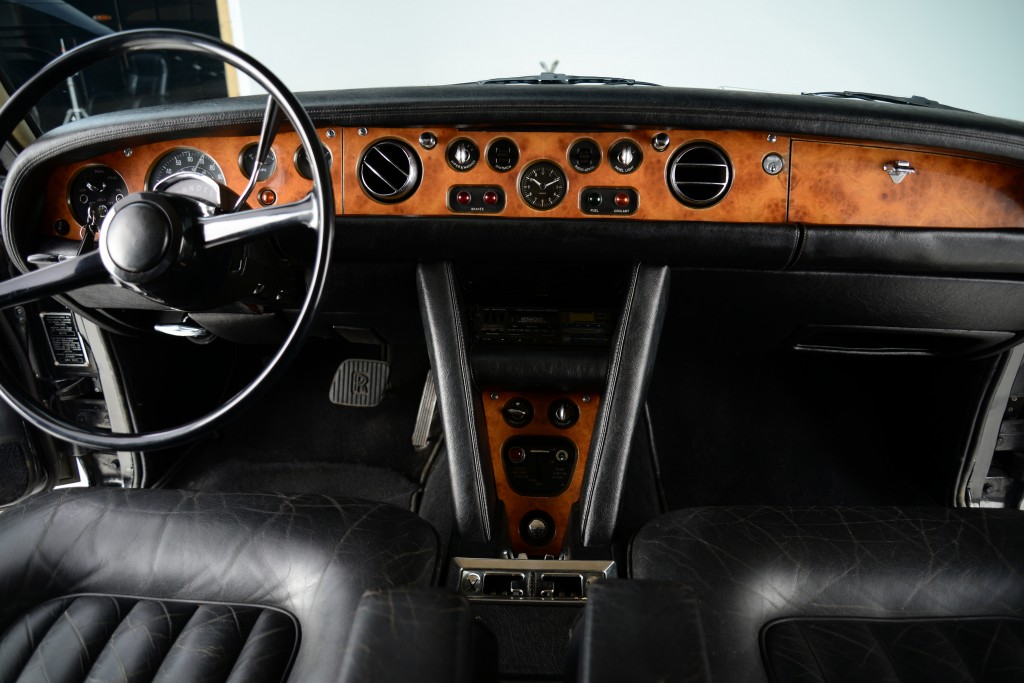 Rolls Royce is world renowned for its impeccable wood treatments and leather upholstery.
