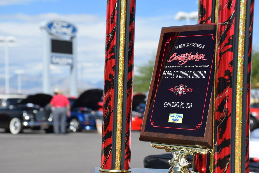 Barrett-Jackson-Plaque