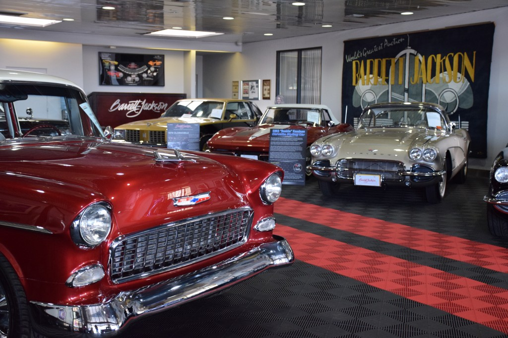 The Barrett-Jackson Collection Showroom is the ideal place to buy or sell a collector car year-round.