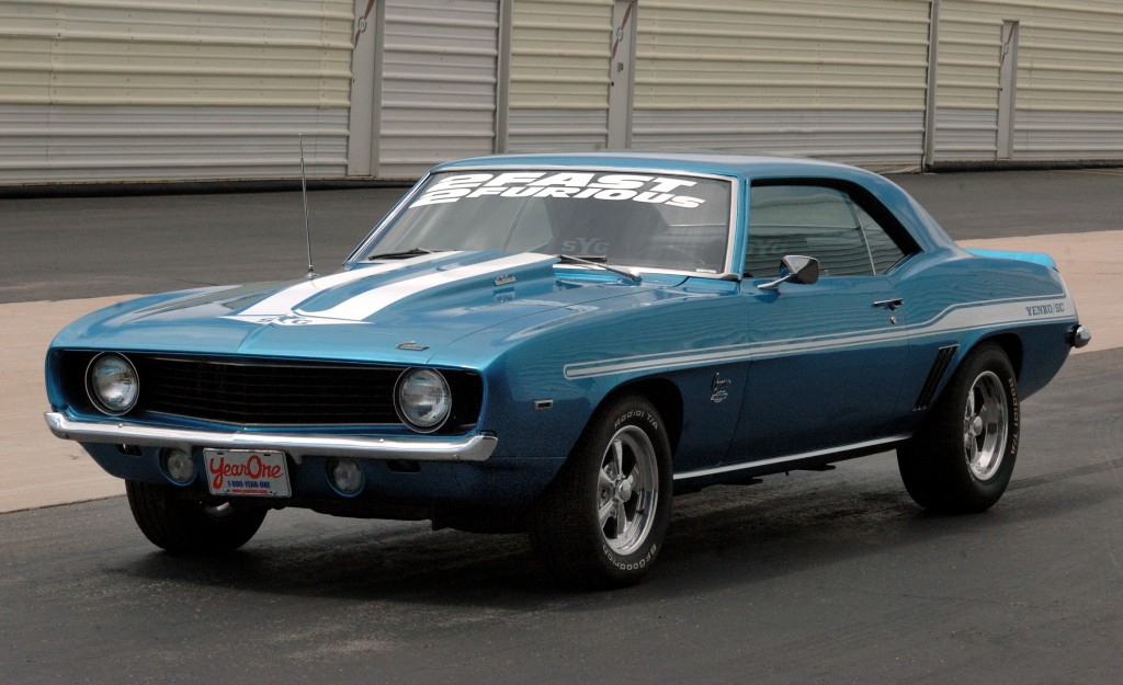 "1969 Yenko Camaro re-creation, driven by Paul Walker in the 2003 film ""2 Fast 2 Furious,"" will be one of the incredible cars on display at Barrett-Jackson's ""Pit Road"" Festival on November 6."