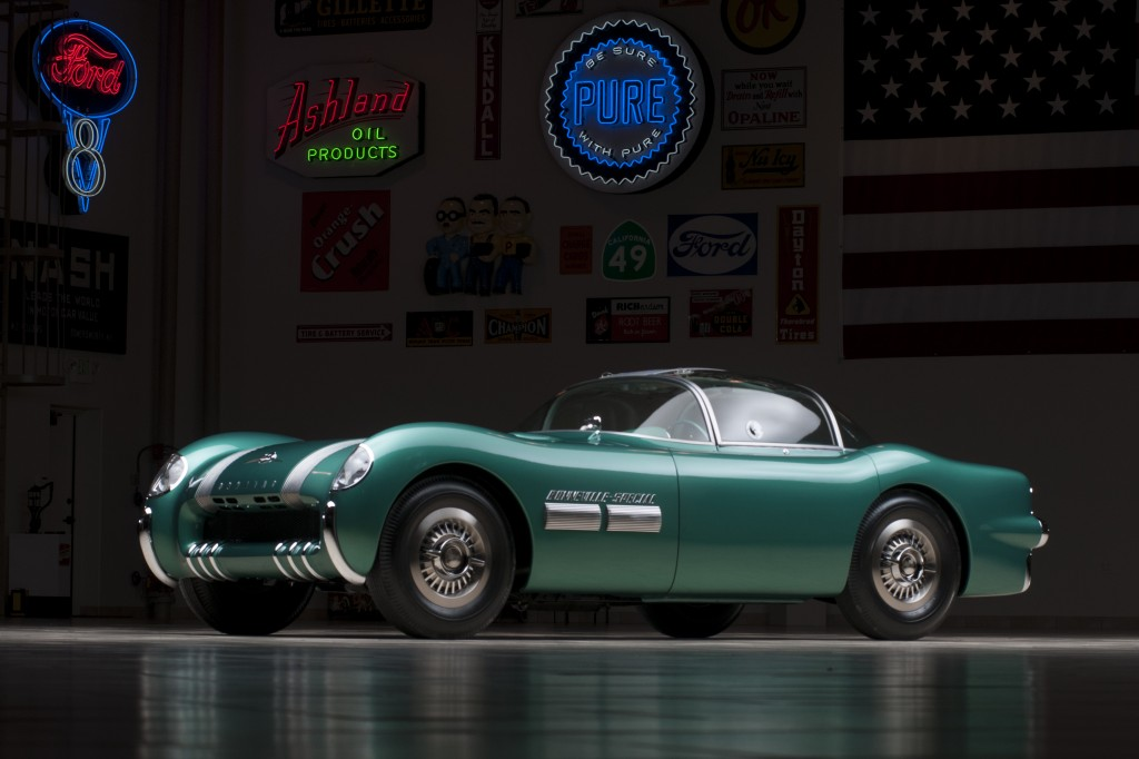 The 1954 Pontiac Bonneville Special Motorama concept car, one of only two designed by GM styling icon Harley Earl, is just one of 142 cars in the Ron Pratte Collection crossing the block at the 2015 Barrett-Jackson Scottsdale Auction in January.