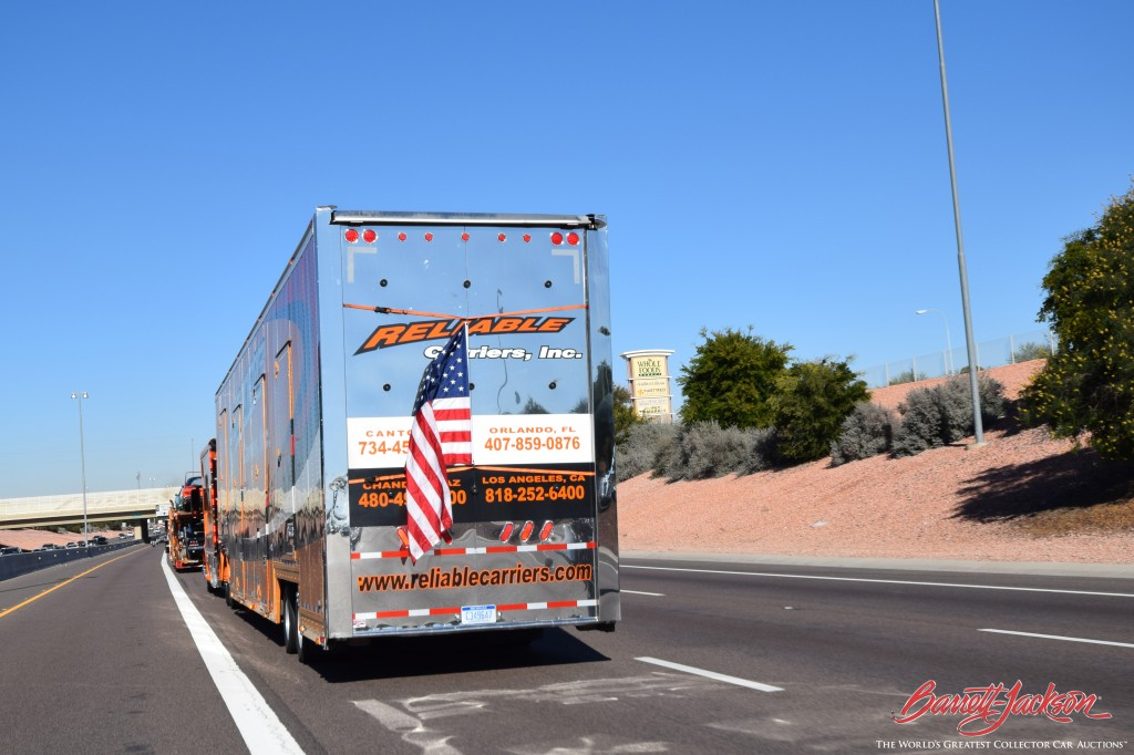 A patriotic parade salute from Reliable.