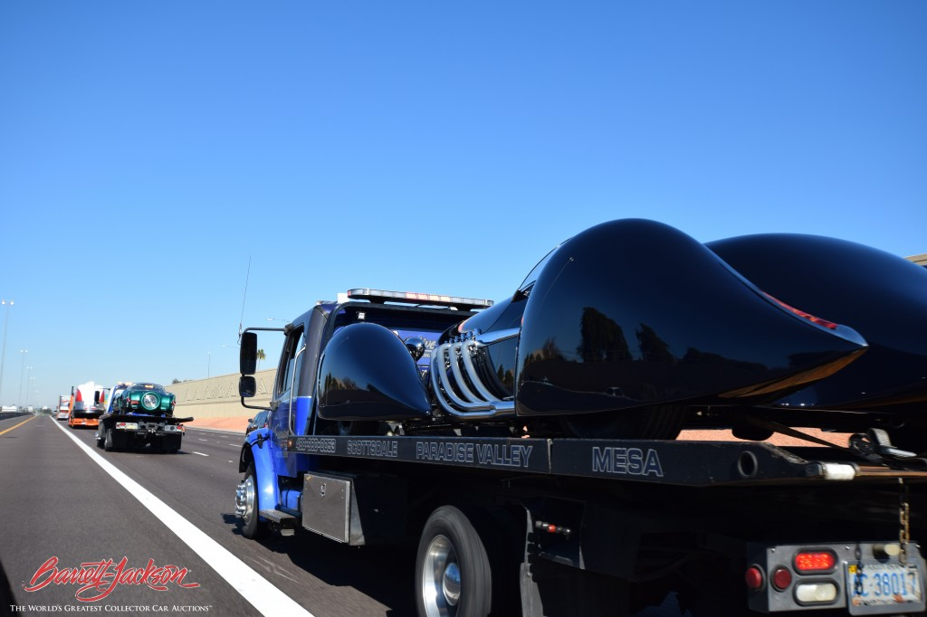 At 20 feet long, the Blastolene was quite a sight to see rolling down the road!