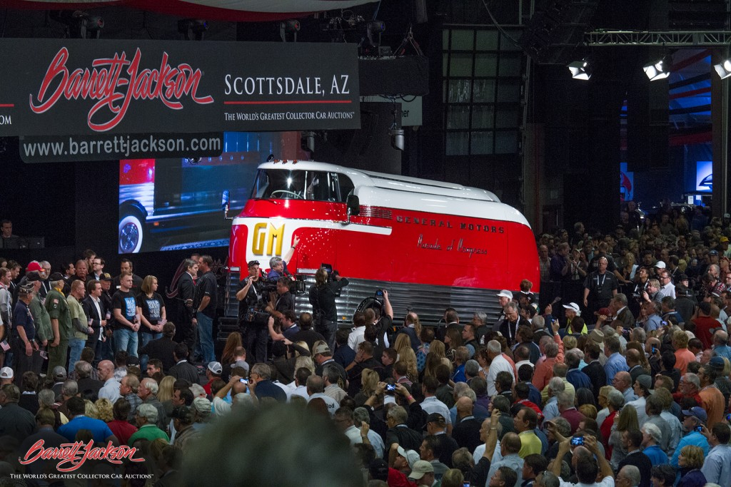 This 1950 GM Futurliner brought in $4 million for the Armed Forces Foundation
