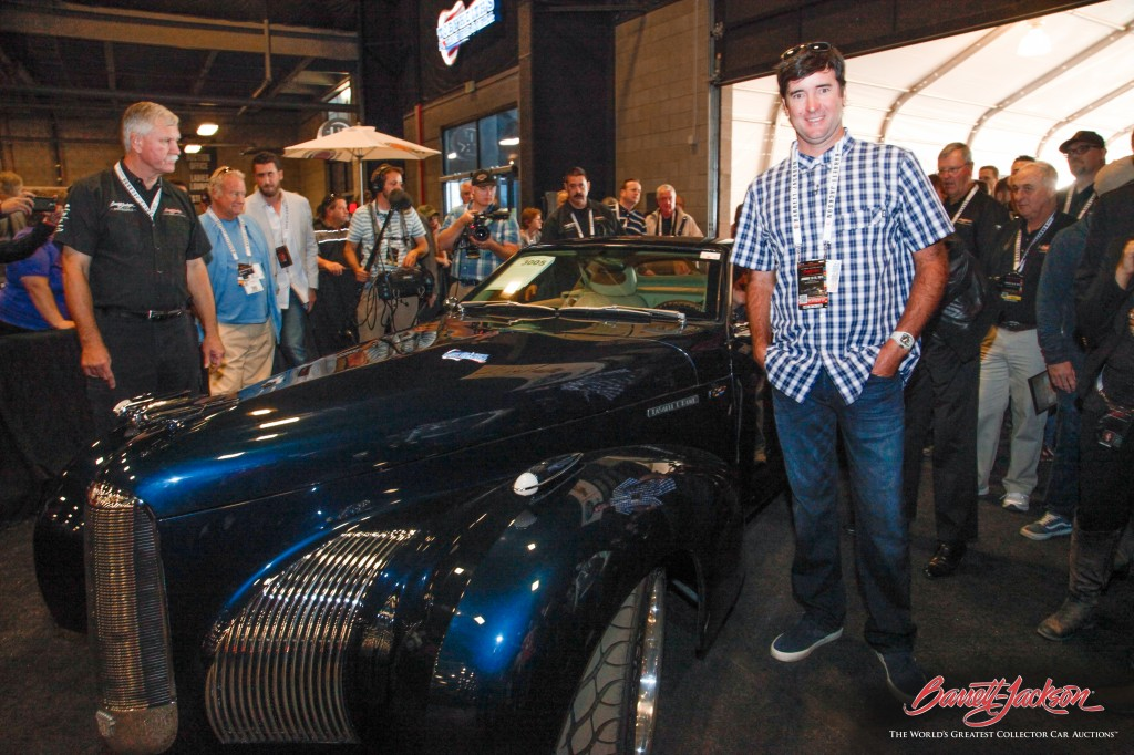 Bubba Watson donated his 1939 Cadillac LaSalle C-Hawk Custom Roadster to raise $410,000 for Birdies for the Brave.