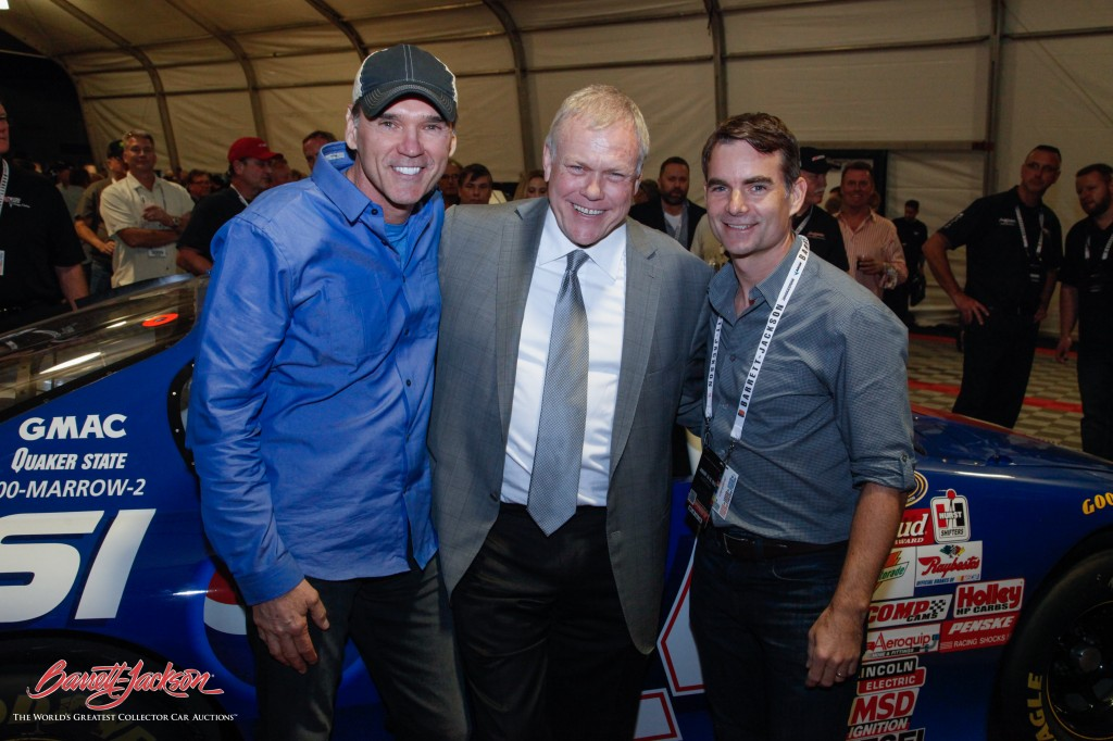 Jeff Gordon and Ray Evernham donated this 1999 Chevrolet Monte Carlo NASCAR Busch Series stock car. The donation brought in $500,000 for the Jeff Gordon Children's Foundation.