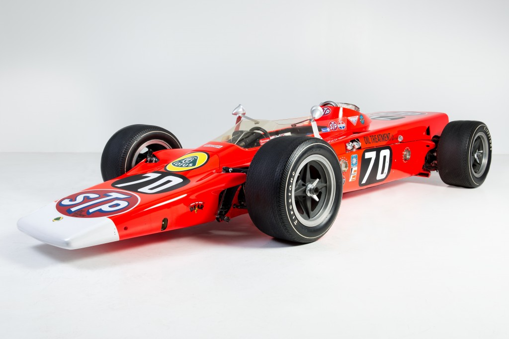 Lotus Jet Turbine Powered Indy Race Car