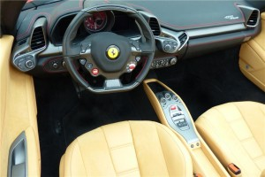 Reflecting the Ferrari racing heritage, a seven-speed dual-clutch F1-style automatic transmission.