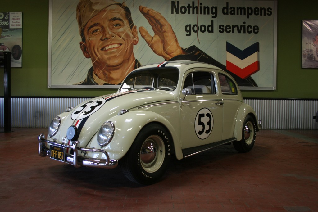 "An authentic ""Herbie"" from the famous Disney movie series will be crossing the block at the 13th Annual Barrett-Jackson Palm Beach Auction."