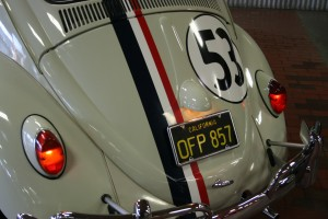 "Bill Walsh, producer of ""The Love Bug"" (Herbie's first movie) chose Herbie's trademark ""53"" racing number.  Walsh was a fan of LA Dodgers baseball player Don Drysdale, who wore a 53 jersey."