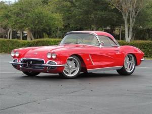 Lot #420, 1962 Corvette Custom Convertible